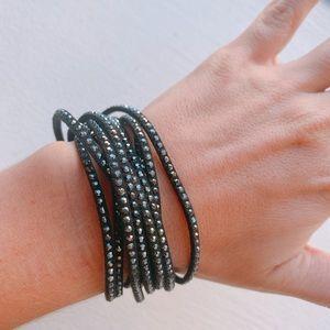 Swarovski Slake Bracelet - Black -